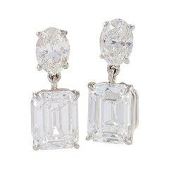 Kauffman de Suisse Diamond Drop Earrings