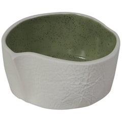 Kawa Dish by Luft Tanaka, Speckled Green