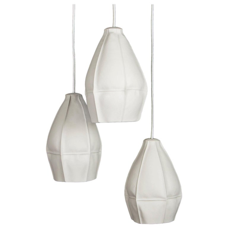 Kawa Pendant Light Cluster of Three from Souda, in Stock For Sale