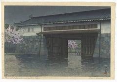 Kawase Hasui, Japanese Woodblock Print, Ukiyo-e, Shin-hanga, Landscape, Night