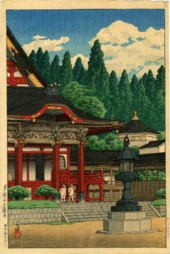 KuonTemple at Mount Minobu