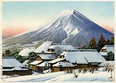 Mount Fuji After a Snowfall