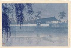 Sakurada Gate in Tokyo; Rare Blue Version