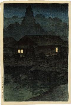 Tsuta Hotsprings in Mutsu Province (Mutsu, Tsuta Onsen)