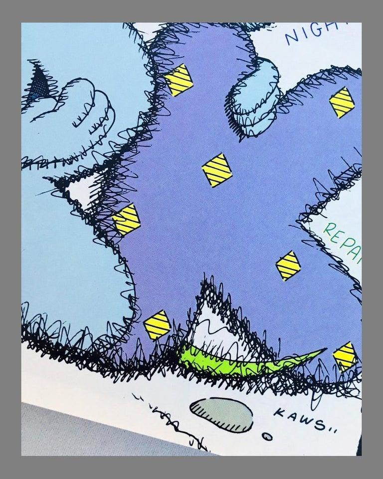 Contemporary Kaws Cover Art 'New York Magazine, 2009 For Sale