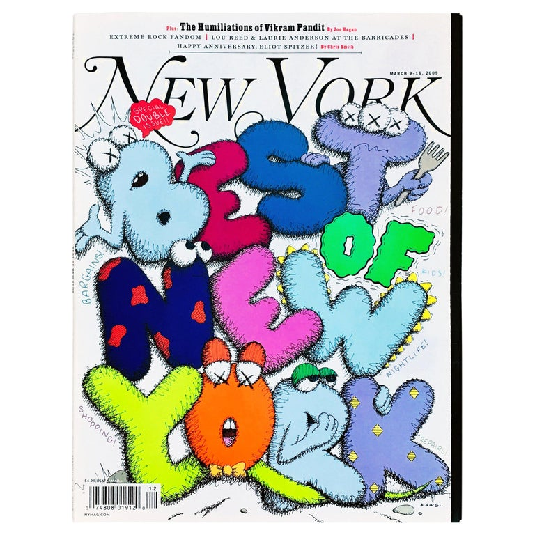 Kaws Cover Art 'New York Magazine, 2009 For Sale