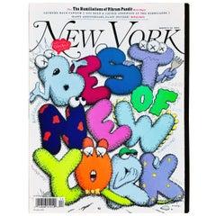 Kaws Cover Art 'New York Magazine 2009'