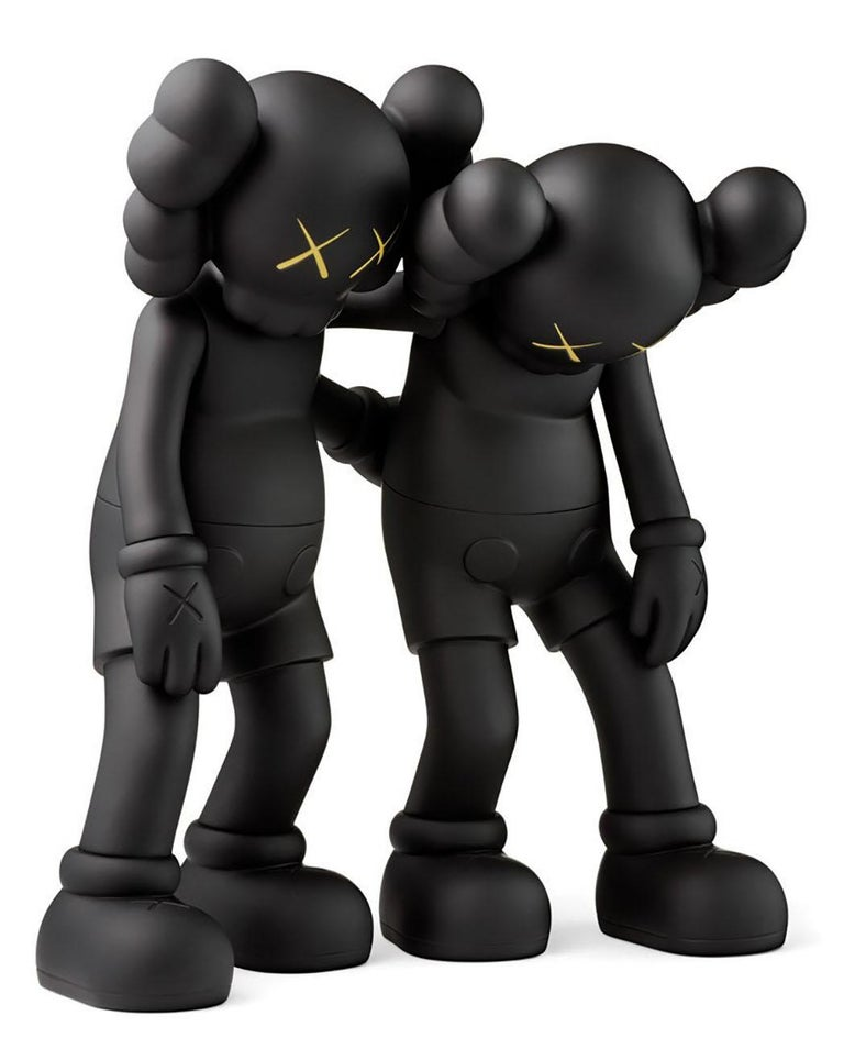 KAWS Along The Way Black (KAWS Companion)  - Pop Art Print by KAWS