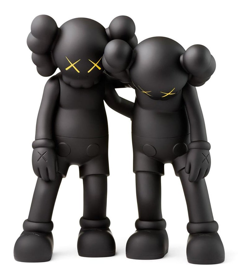 KAWS Along The Way Black (KAWS Companion)  - Print by KAWS