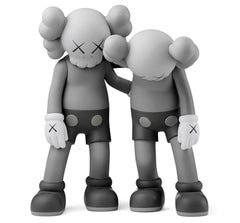 KAWS Along The Way Grey (grey KAWS Companion)