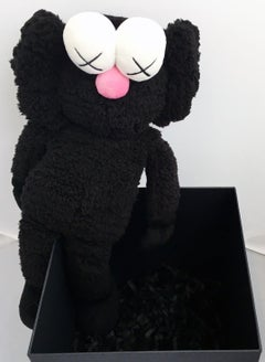KAWS Black BFF Plush (Kaws BFF plush limited edition)