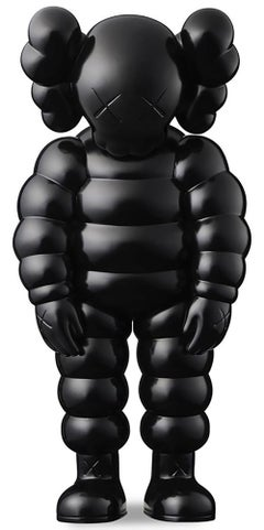 KAWS black WHAT PARTY (KAWS Companion black)