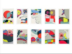 KAWS, 'Blame Game' Complete Portfolio (Set of 10), 2014