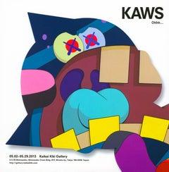 KAWS Kaikai Kiki Gallery Tokyo 2013