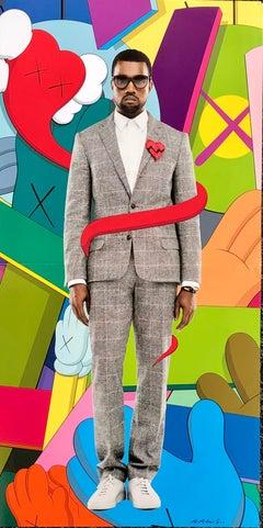 KAWS Poster Art 2008 (KAWS Kanye West 808s and Heartbreak)