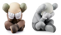 KAWS SEPARATED Companion (set of 2 works)