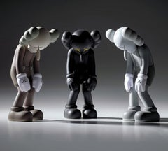KAWS Small Lie complete set of 3 (KAWS companion)