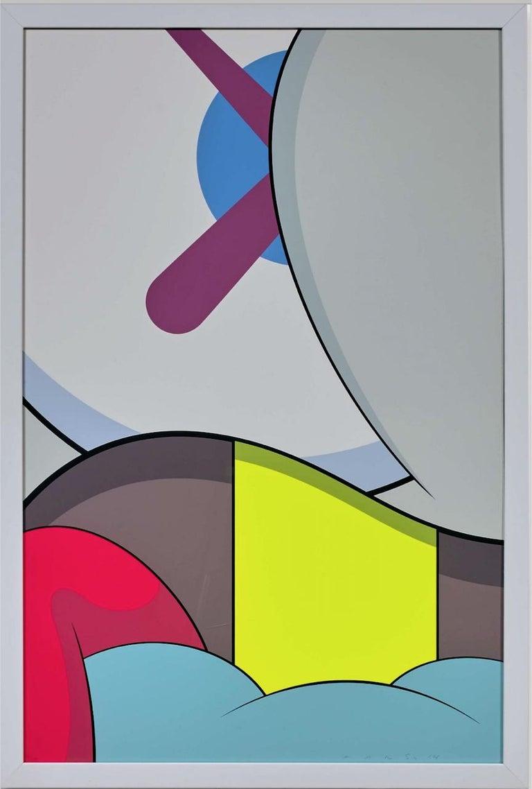 KAWS Abstract Print - The Blame Game 9