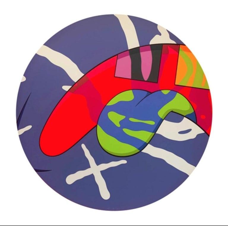 KAWS Abstract Print - The News