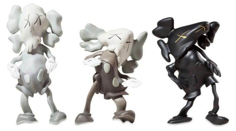 Companions (Set of 3) [KAWS x Robert Lazzarini] - Sculpture by KAWS