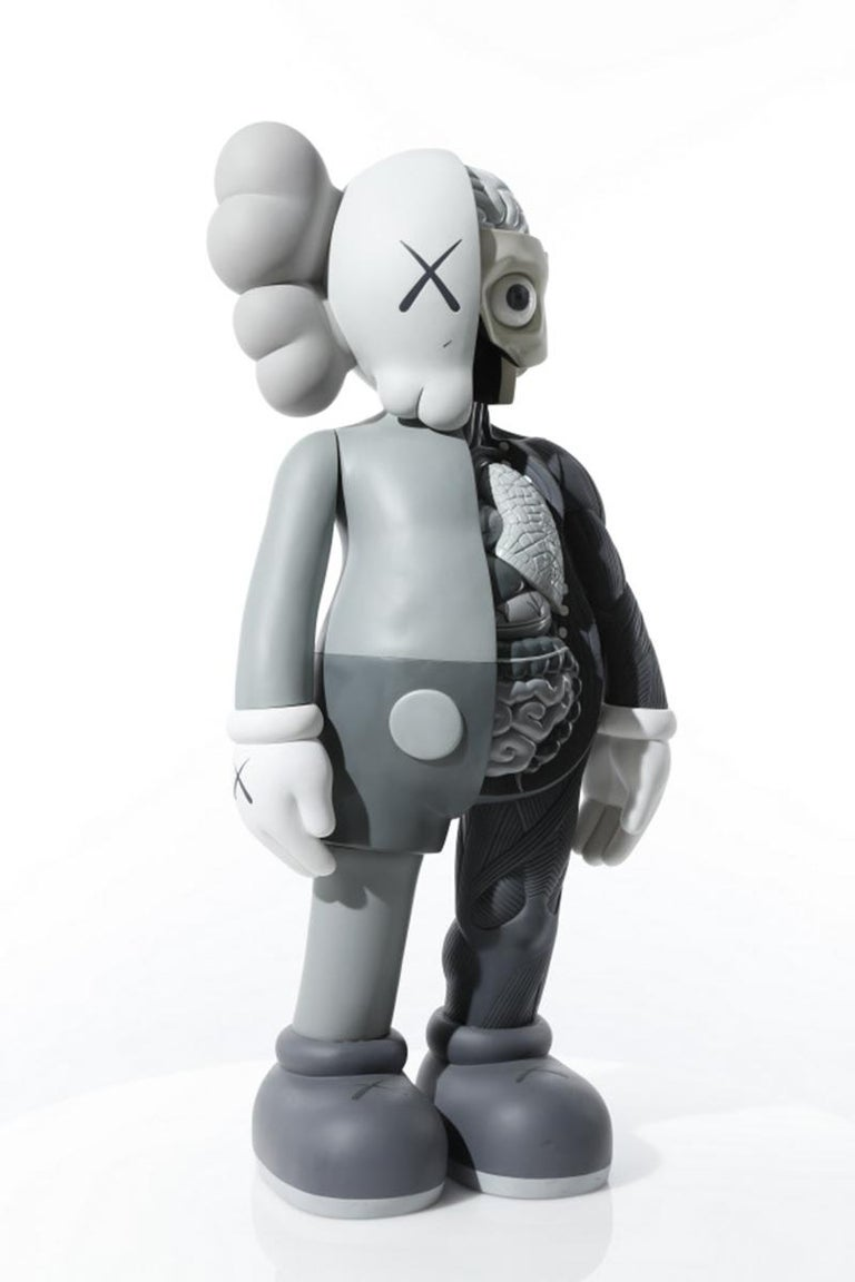 FOUR FOOT DISSECTED COMPANION (GREY) - Sculpture by KAWS
