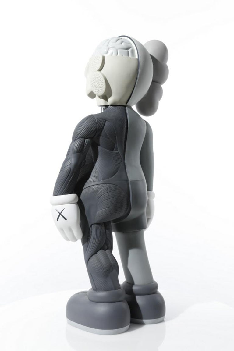 FOUR FOOT DISSECTED COMPANION (GREY) - Gray Figurative Sculpture by KAWS