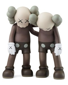 KAWS Along The Way Brown (KAWS brown Along The Way companion)