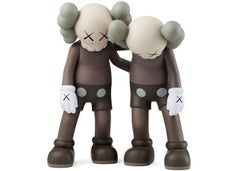 KAWS: Along the Way (Brown) - Vinyl Sculpture. Urban, Street art, Pop Art