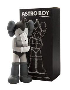 KAWS Astro Boy Grey Vinyl Figure