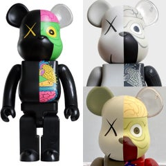 KAWS Bearbrick Set of 3 (KAWS Be@rbrick 400% dissected companions)