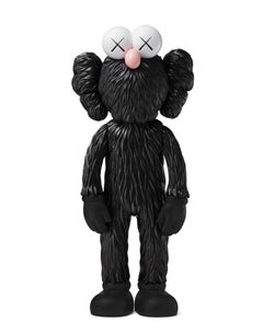KAWS: BFF (Black) - Original Vinyl Sculpture, Street art, Pop Art. MOMA sold out