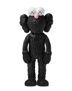 KAWS: BFF (Black) - Original Vinyl Sculpture, Street art, Pop Art. MOMA sold out