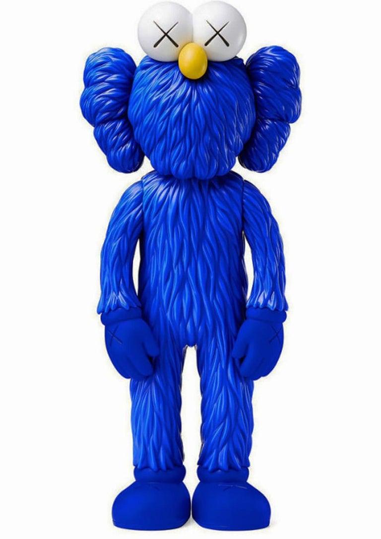 KAWS BFF Blue (KAWS Blue BFF Companion)  - Sculpture by KAWS