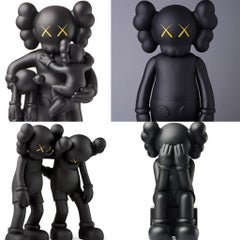 KAWS Black Companions: set of 4 (KAWS Companion 2016-2019)