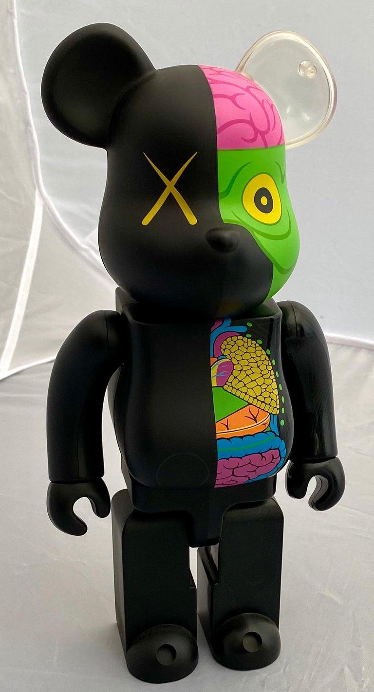 KAWS Black Dissected 400% Bearbrick Companion (KAWS black dissected Be@rbrick)  - Pop Art Print by KAWS