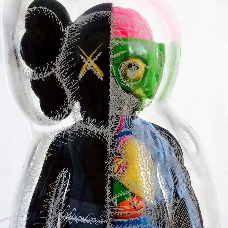 KAWS Black Flayed Companion  For Sale 2