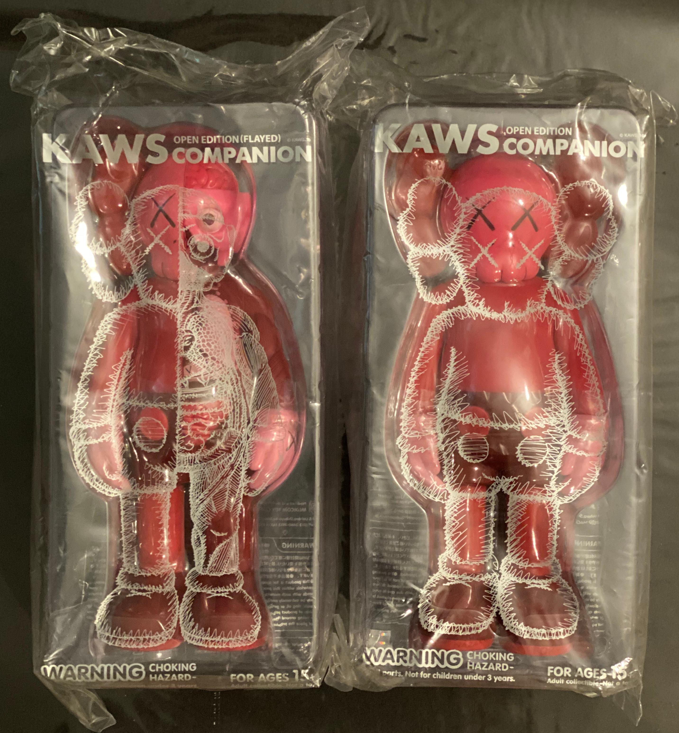 Kaws Blush Set Flayed & Companion YUZ Museum China Decorative Figures Pop Urban