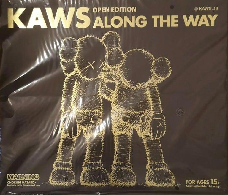 KAWS Brown Companions: set of 4 (KAWS Companion 2016-2019) For Sale 4