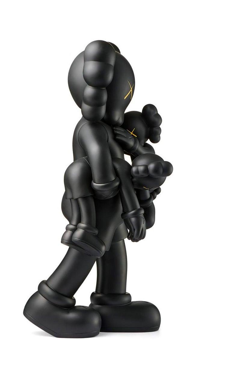 KAWS Clean Slate Black (KAWS black clean slate companion) - Pop Art Sculpture by KAWS