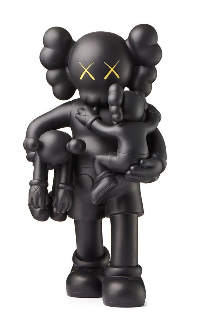 KAWS Clean Slate Black (KAWS black clean slate companion) - Sculpture by KAWS