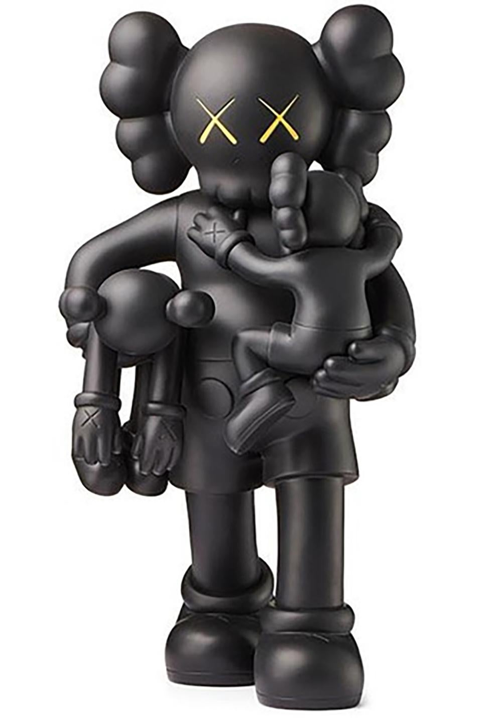 KAWS - Clean Slate - Black Version - acquired from Museum - brand new