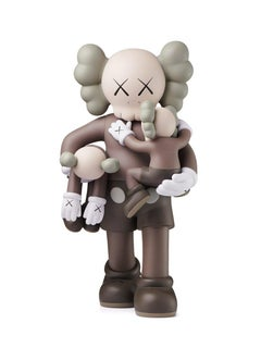 KAWS: Clean Slate (Brown) - Design Vinyl Sculpture. Modern, Pop Art, Urban