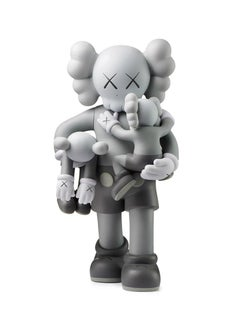 KAWS: Clean Slate (Grey) - Design Vinyl Sculpture. Modern, Pop Art, Urban
