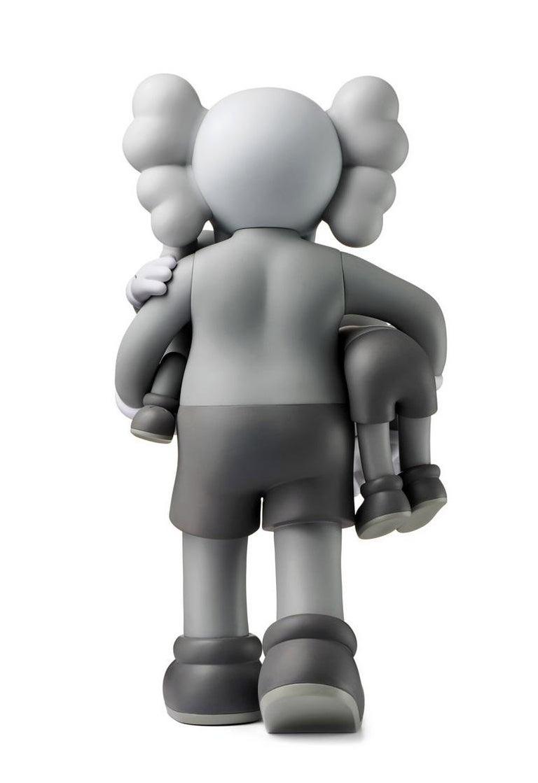 KAWS Clean Slate Grey (KAWS grey Companion) For Sale 1