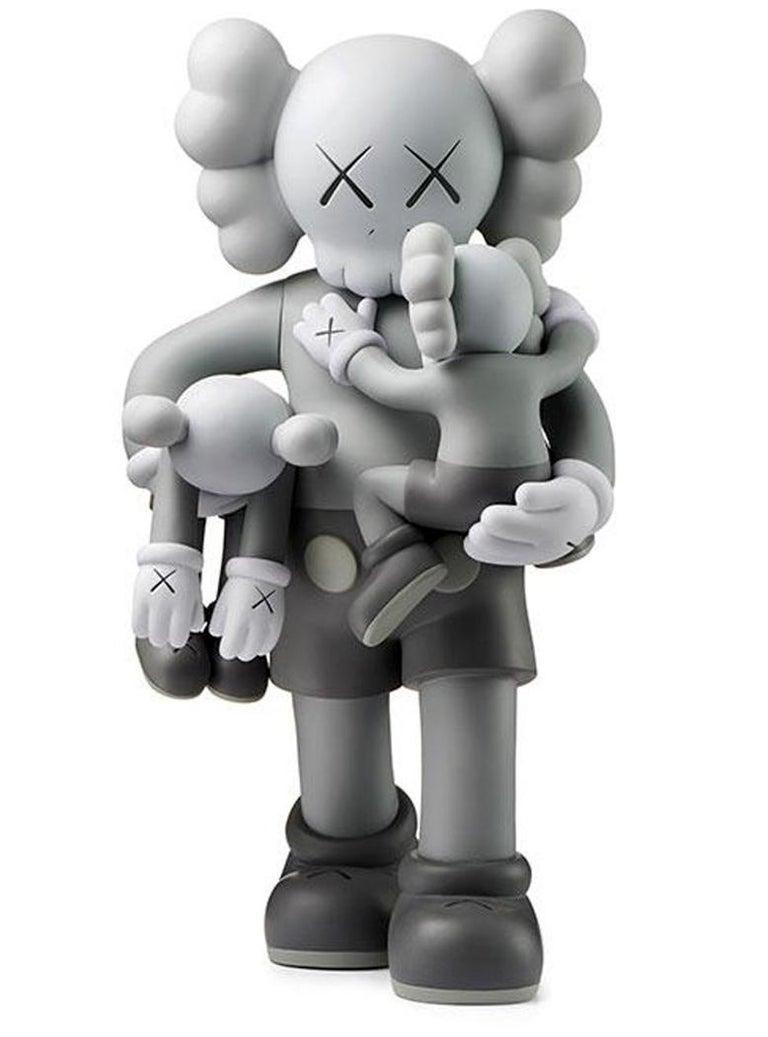 KAWS Clean Slate Grey (KAWS grey Companion) - Sculpture by KAWS