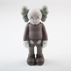 KAWS: Companion Brown 2016 - Original Vinyl Sculpture, Street art, Pop Art.