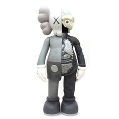 KAWS: Companion Flayed (Grey) - Design Vinyl Sculpture. Modern, Pop Art, Urban