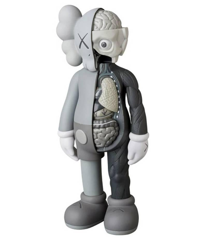 KAWS Companion, Grey Flayed (2016) For Sale 1