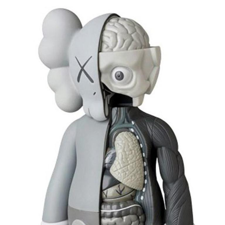 KAWS Companion, Grey Flayed (2016) For Sale 2