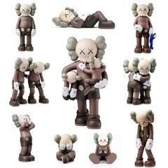 KAWS Companion: set of 10 works (KAWS Brown Companion set)